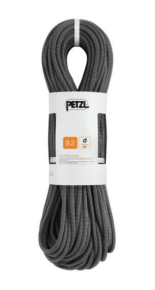 Petzl Volta klimtouw 9,2 mm x 60 m grijs